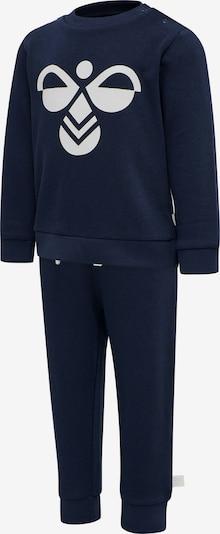 Hummel Jogginganzug 'ARIN' in dunkelblau / weiß, Produktansicht