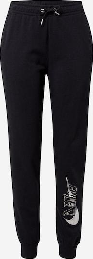 Nike Sportswear Hlače u crna / bijela, Pregled proizvoda