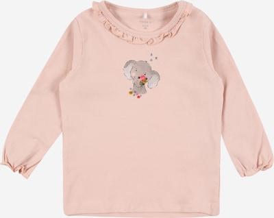 NAME IT Shirt 'BERITA' in marine / stone / hellgrau / altrosa / hellpink, Produktansicht