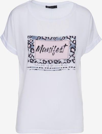 Decay Kurzarmshirt in weiß, Produktansicht