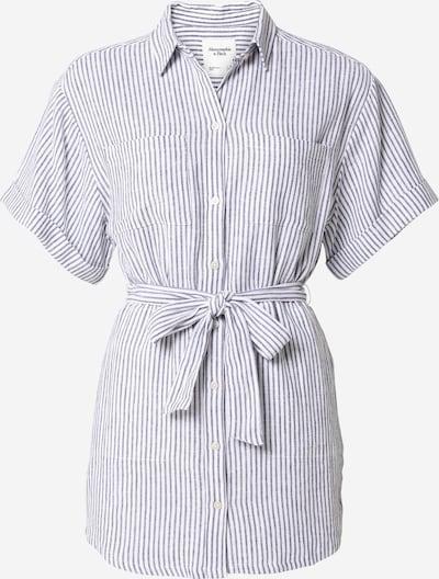 Abercrombie & Fitch Kleid in dunkelblau / weiß, Produktansicht