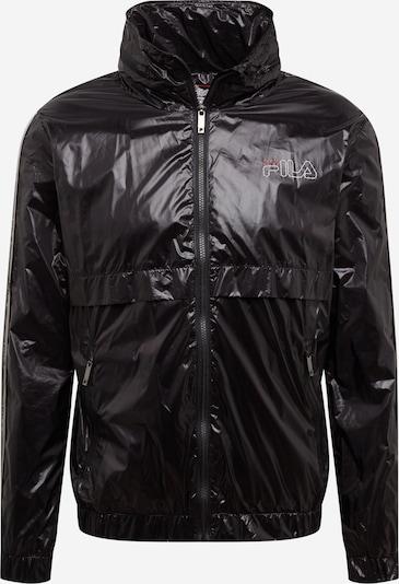 FILA Sportjas 'AUGUST' in de kleur Zwart / Wit, Productweergave