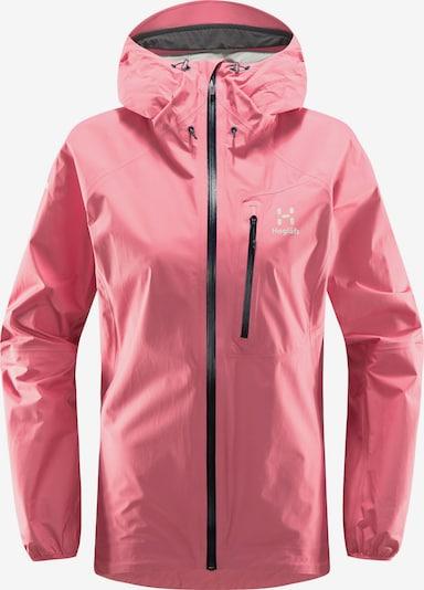 Haglöfs Outdoorjas 'L.I.M' in de kleur Pink / Zwart / Wit, Productweergave
