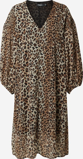 SOAKED IN LUXURY Kleid in beige / braun, Produktansicht
