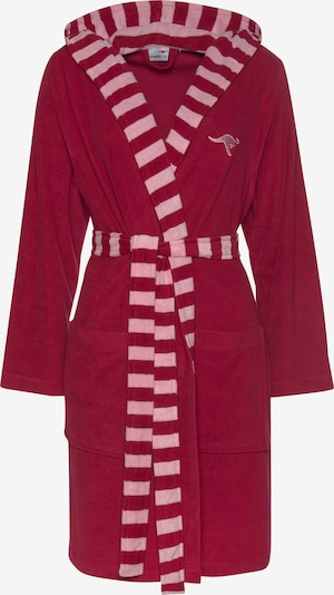 KangaROOS Bademantel in rosa / rot, Produktansicht
