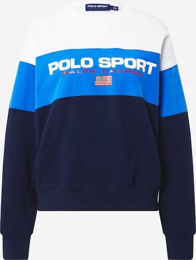 POLO RALPH LAUREN Sweatshirt in navy / royalblau / rot / weiß, Produktansicht