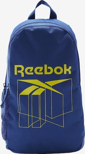 Reebok Classic Rucksack in blau / gelb, Produktansicht