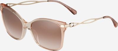 COACH Sonnenbrille '0HC8316' in braun / altrosa, Produktansicht