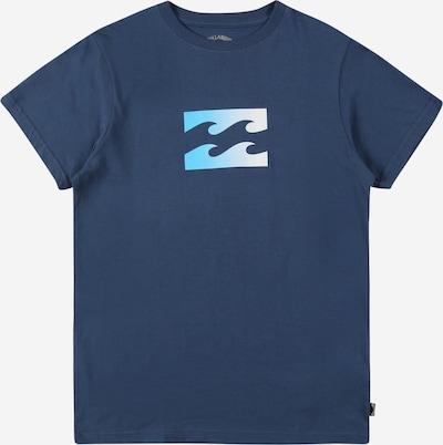 BILLABONG Sportshirt 'WAVE' in marine / aqua / weiß, Produktansicht