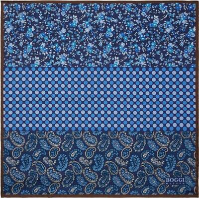 Boggi Milano Pochette en bleu marine / bleu roi / bleu clair, Vue avec produit