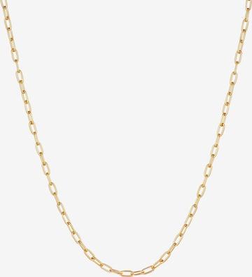 KUZZOI Halskette Basic Kette in Gold