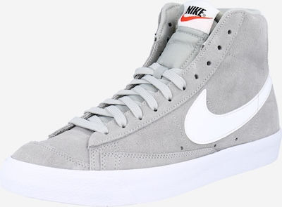 Nike Sportswear Baskets hautes en gris / blanc, Vue avec produit