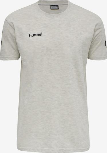 Hummel Functioneel shirt in de kleur Grijs gemêleerd / Zwart, Productweergave
