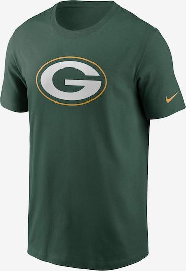 NIKE T-Shirt 'Green Bay Packers' in hellgrau / dunkelgrün / orange, Produktansicht