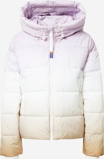 Marc O'Polo DENIM Veste d'hiver ' Slow Down - No Down ' en beige / violet pastel / blanc, Vue avec produit