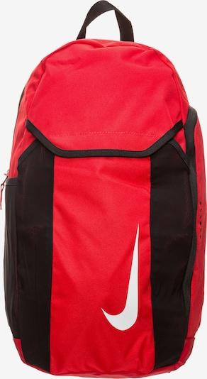 NIKE Rucksack in rot / schwarz / weiß, Produktansicht