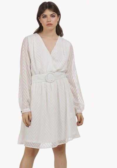 myMo ROCKS Kleid in weiß, Modelansicht