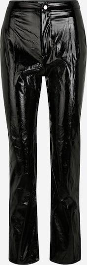 Missguided (Petite) Kalhoty - černá: Pohled zepředu