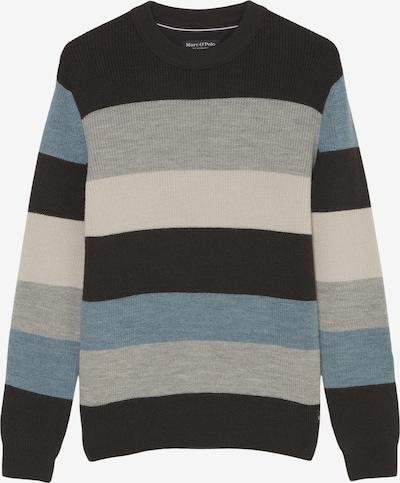 Marc O'Polo Pullover in blau / grau / schwarz, Produktansicht