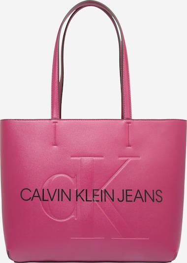 Calvin Klein Jeans Torba shopper w kolorze ciemnoróżowy / czarnym, Podgląd produktu