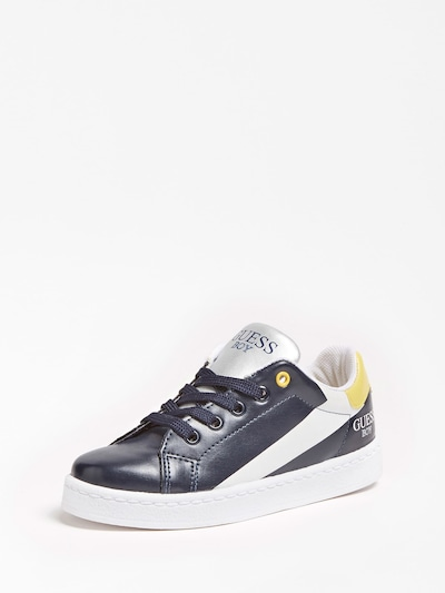 GUESS KIDS Sneaker in dunkelblau / weiß, Produktansicht