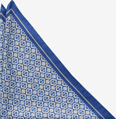 ETERNA Einstecktuch in blau / gold / weiß, Produktansicht