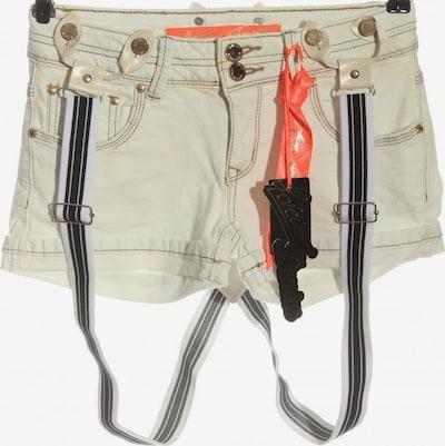 Forever Hot Pants in M in schwarz / weiß / wollweiß, Produktansicht
