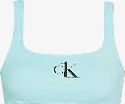 Calvin Klein Swimwear Bikini zgornji del | svetlo modra / črna barva, Prikaz izdelka