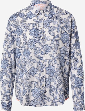 Bluză 'Ribanna' de la LIEBLINGSSTÜCK pe albastru
