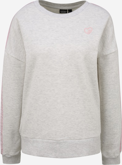 Eight2Nine Sweatshirt in graumeliert / rosa, Produktansicht