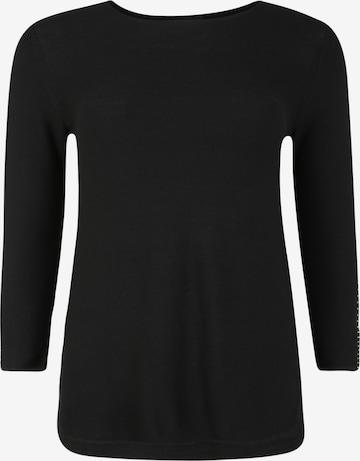 Doris Streich Pullover in Schwarz