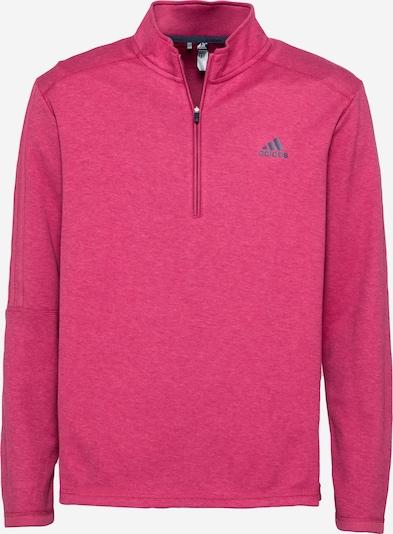 adidas Golf Sportsweatshirt in de kleur Donkergrijs / Pink, Productweergave