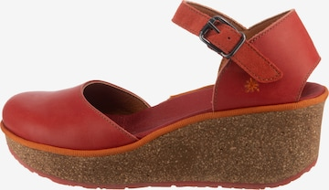 ART Sandals in Red
