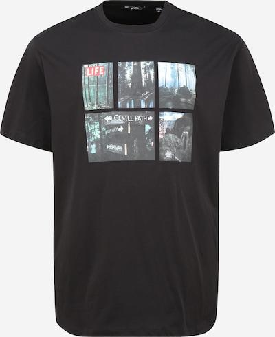 Tricou 'LIFEMAGAZINE' Only & Sons Big & Tall pe mai multe culori / negru, Vizualizare produs