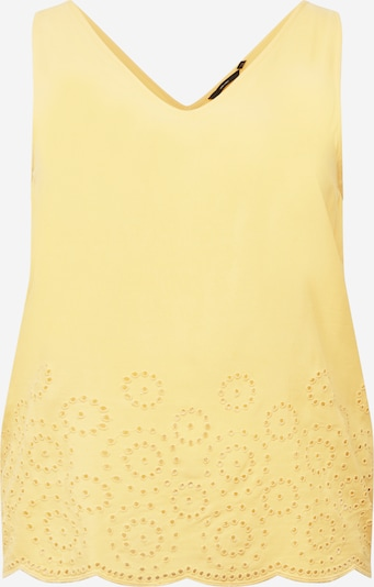 Vero Moda Curve Top 'Isat' in Yellow, Item view