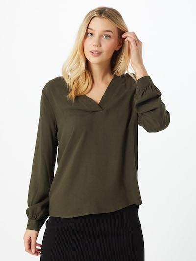 JACQUELINE de YONG Bluse in dunkelgrün, Modelansicht