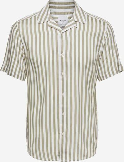 Only & Sons Koszula w kolorze trzcina / białym, Podgląd produktu