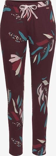 vegyes színek / bordó s.Oliver Pizsama nadrágok, Termék nézet