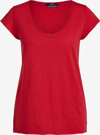 SET Shirt in rot, Produktansicht