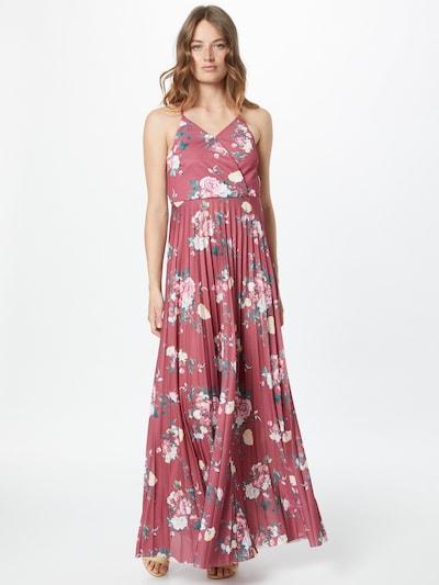 ABOUT YOU Kleid 'Frida' in mischfarben / bordeaux, Modelansicht
