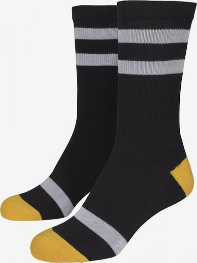 Urban Classics Sokken in de kleur Geel / Zwart / Wit, Productweergave