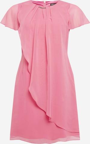 SWING Curve Cocktailkjoler i rosa