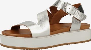 INUOVO Sandale in Silber