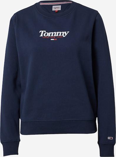 Tommy Jeans Sweatshirt 'ESSENTIAL' in navy / rot / weiß, Produktansicht