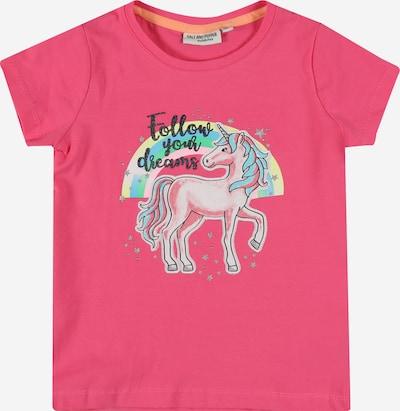 SALT AND PEPPER T-Shirt 'Dreams' in hellblau / pastellgelb / kiwi / pitaya / schwarz, Produktansicht