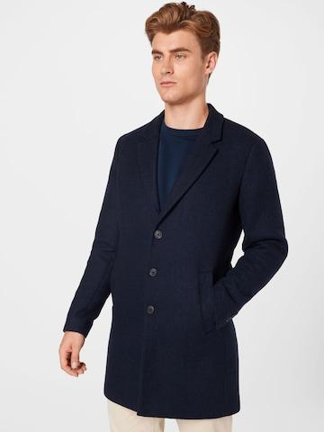 Manteau mi-saison JACK & JONES en bleu
