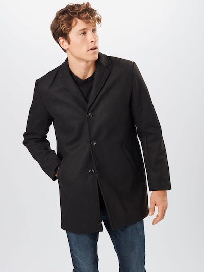 Redefined Rebel Between-seasons coat 'Herman' in black, View model