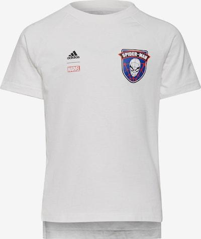 ADIDAS PERFORMANCE T-Shirt 'Spider-Man' in blau / rot / schwarz / weiß, Produktansicht