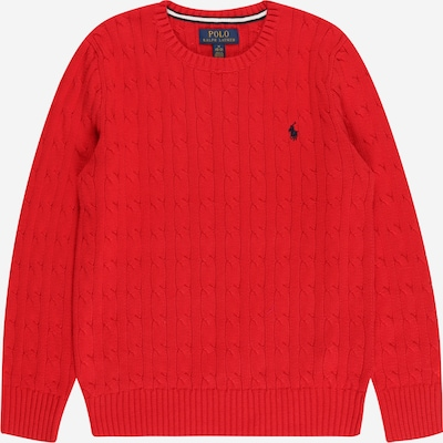 Polo Ralph Lauren Sveter - námornícka modrá / ohnivo červená, Produkt