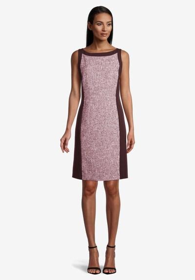 Vera Mont Etuikleid figurbetont in rosa / schwarz, Modelansicht